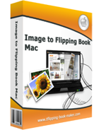 boxshot of Image to Flipping Book mac