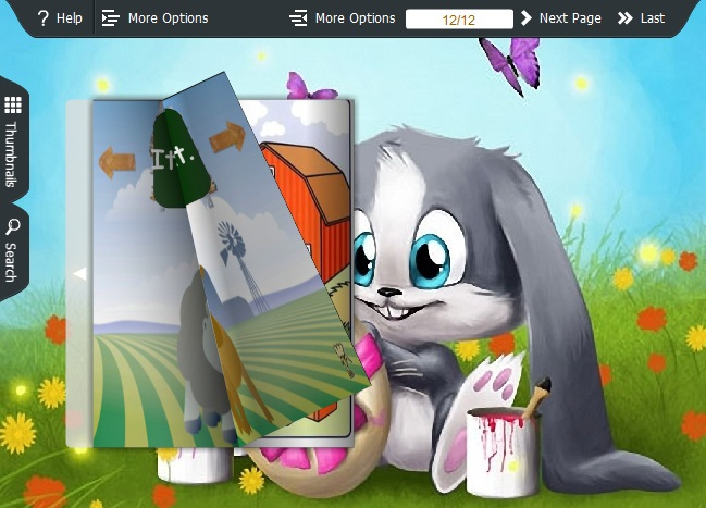 Bunny Theme for PDF to Flipping Book 1.0 full