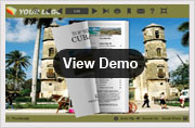cuba templates for flipping book-demo
