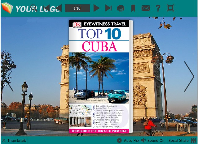 cuba templates for PDF to Flipping Book
