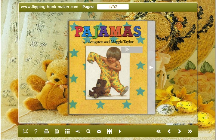 Windows 7 Teddy Theme for PDF to Flipping Book Pro 1.0 full